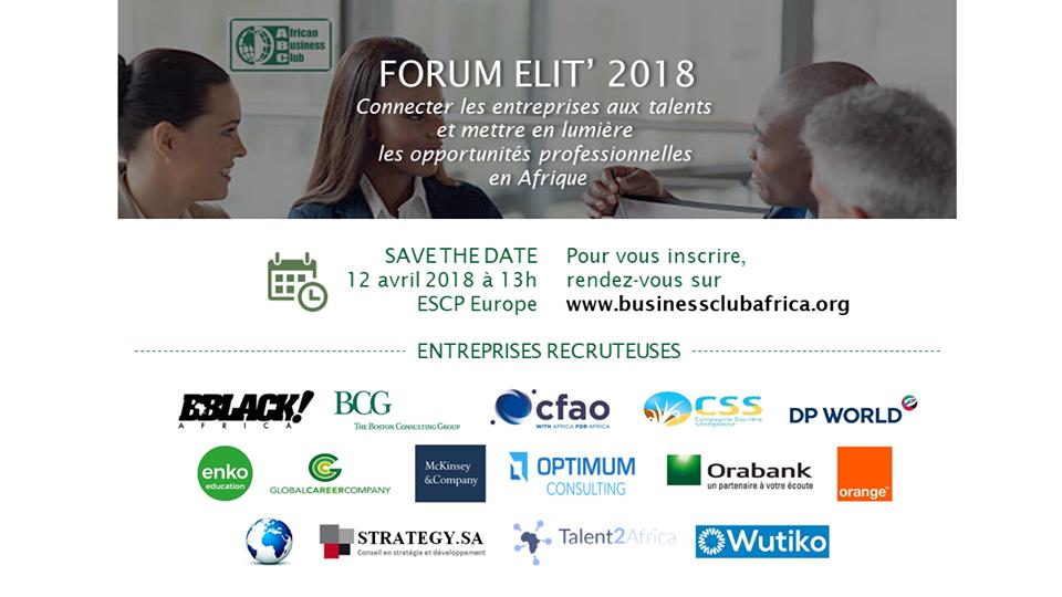 12 avril : Forum Elit' Paris – ABC